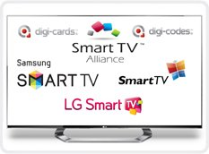 SMART TV THE NEW COMPATIBLE PRODUCT FOR DIGI-CARDS & DIGI-CODES