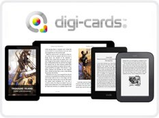 DIGI-CARDS DOWNLOAD CARDS THE NEW CRAZE FOR E-BOOKS