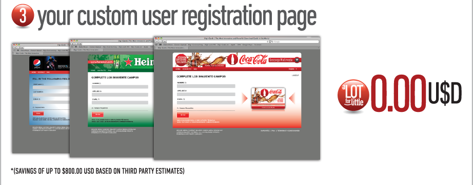 3. Your custom user registration page