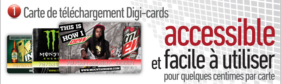 1. Digi-cards download cards