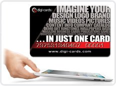 DIGI-CARDS READY FOR IPAD 2