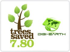 DIGI-CARDS MAKING CLIENTS ECO-FRIENDLY BY COUNTING SAVED TREES