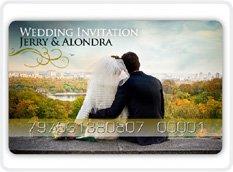 DIGI-CARDS AS WEDDING INVITATIONS