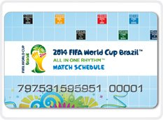DIGI-CARDS WILL GUIDE ATTENDEES DURING SOCCER WORLD CUP
