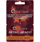 retail ready PVC hanger Digi-card